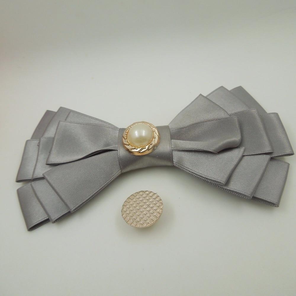 18mm,25pcs pearl glue on uv plated rose gold no fade ribbon buckles acessories Ribbon Slider Headband Hair Clip DIY