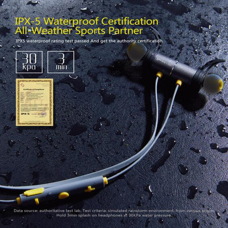 Wireless Bluetooth Headphone IPX5 Waterproof Earphones Earbuds Magnetic Headset Earphones With Mic Earpiece For Iphone Xiaomi big bluetooth wireless headphone earphones
