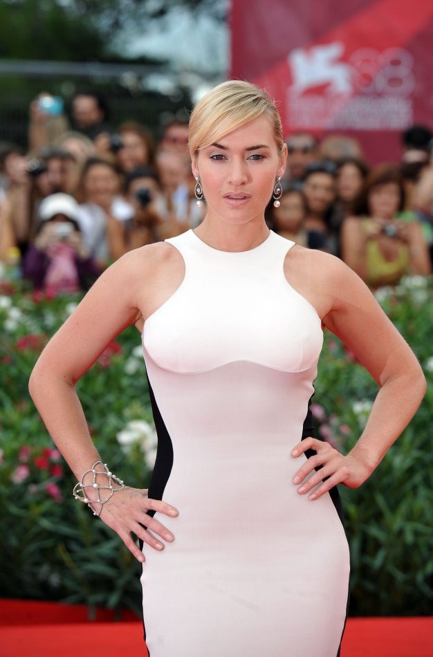1PC wholesale New Fashion Hollywood star Kate Winslet sexy red carpet  dresses women Dress 68th Venice Film Festival cotton-in Dresses from  Women's Clothing ...