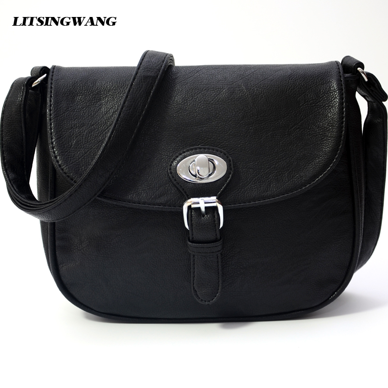 LITSINGWANG crossbody bags bolsas femininas women messenger bags ladies shoulder bag little pu leather handbags 2017High Quality handbags women trapeze bolsas femininas sac lovely monkey pendant star sequins embroidery pearls bags pink black shoulder bag
