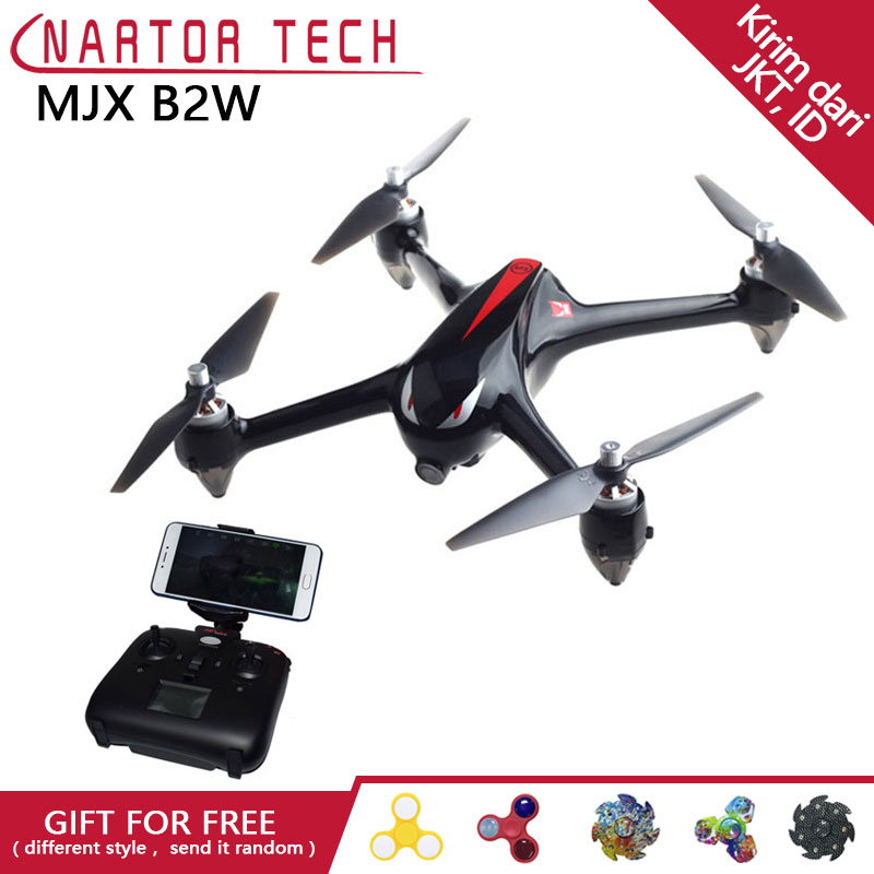 MJX B2W Bugs 2W Monster WiFi FPV Brushless RC Drones GPS Altitude Hold Quadcopter Toys Gift original mjx b2w bugs 2w monster outdoor toys rc drone brushless gps rc quadcopter rtf 1080p hd camera wifi fpv vs hubsan h501s