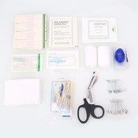 Relefree 101 unid/set botiquín de Primeros Auxilios bolsa de supervivencia de Emergencia Mini Familia kits de Viaje deporte Hogar Médico Bolsa de Primeros Auxilios Al Aire Libre bolsa