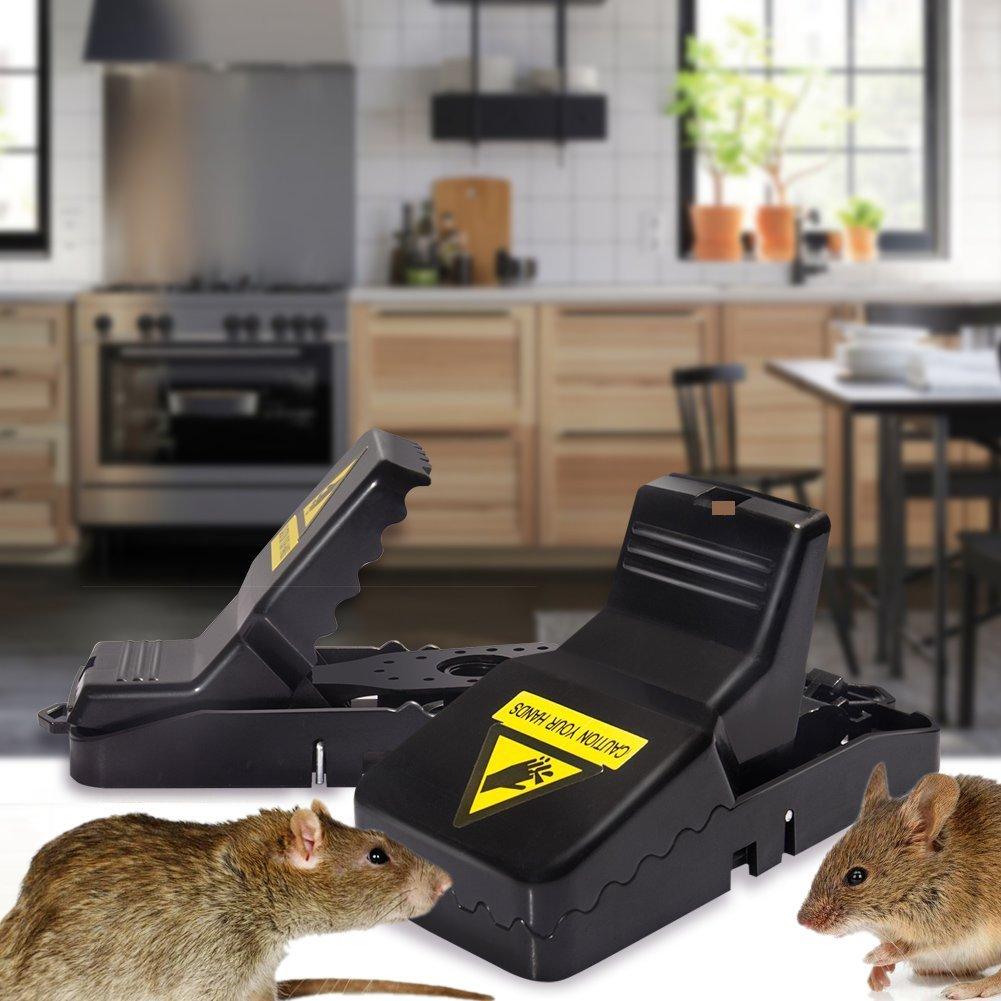 2Pcs/Pair Plastic Rat Trap Reusable Mouse Catching Mice