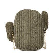 7PCS / LOT Vintage Pure Color Small Women Fashion Handbag Corduroy Shoulder Bag Tote Ladies Purse Zipper Messenger Bags