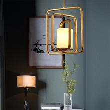 Postmodern personality creative Iron Pendant Lights decorative dining room bedroom balcony Nordic fashion designers LU80260 цена