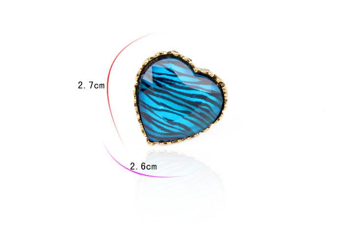 2016 новинка горячая распродажа мода палец кольцо. металл сердца кольцо античный кольцо 5 цвета r105