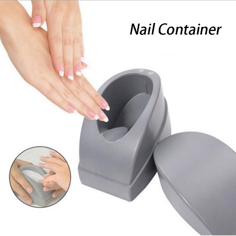 Французский DIP ногтей контейнер легко сделать линия улыбки погружением Косметическая пудра Maker формы ногтей jar руководства Маникюр Дизайн н...