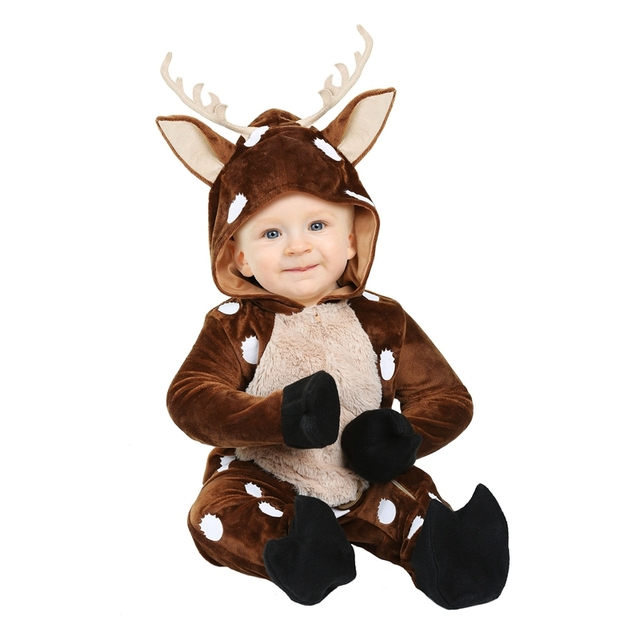 Adorable Baby Deer Infant Halloween Costume Sweet Fawn Of The Forest Soft Velvety Made Animal Onesie  sc 1 st  AliExpress.com & Adorable Baby Deer Infant Halloween Costume Sweet Fawn Of The Forest ...