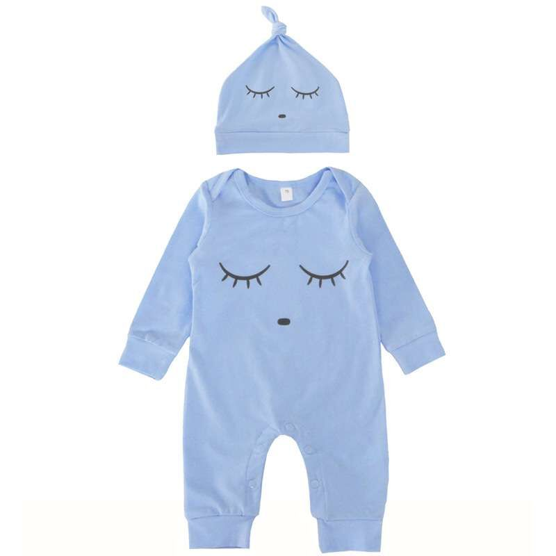 Spring Summer Unisex Newborn Clothes Baby Costume Cartoon Cute Cotton Long Sleeve Infant Boys Girls Jumpsuit Toddler   Rompers   002