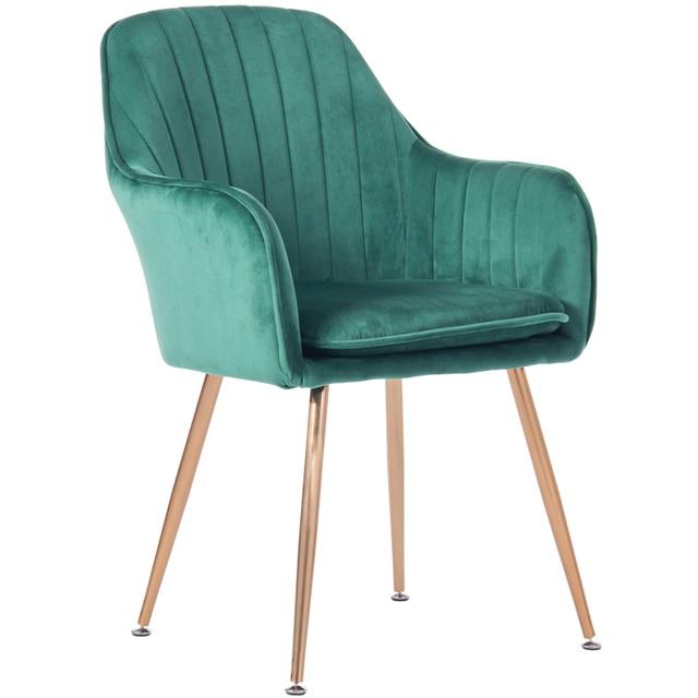 Nordic stil schmiedeeisen make up stuhl schlafzimmer nagel rückenlehne  luxus esszimmer