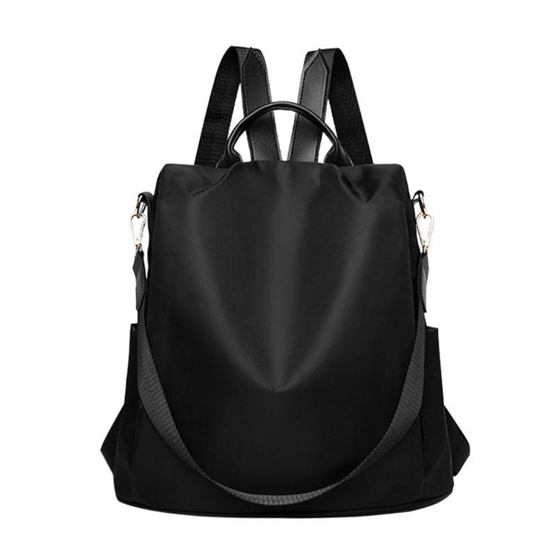 HTB1wGPINbvpK1RjSZPiq6zmwXXa0 Fashion Oxford Women Anti-theft Backpack High Quality School Bag For Women Multifunctional Travel Bags