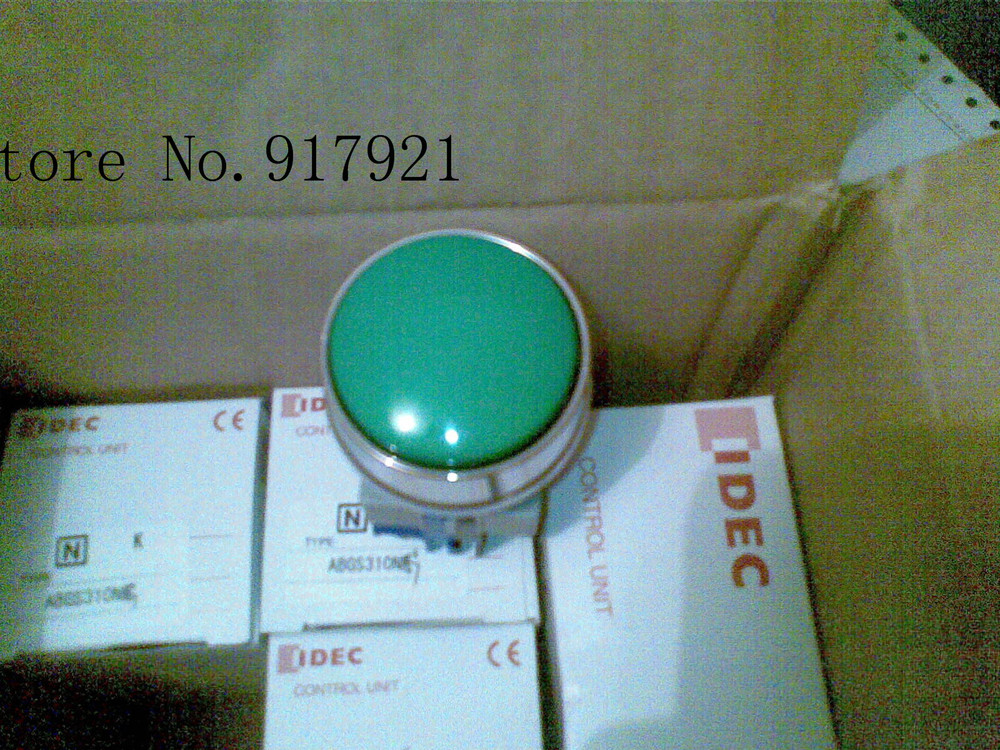 [ZOB] Izumi switch 25mm mushroom head type ABGS320NG 2NO series large spot agent  --3pcs/lot