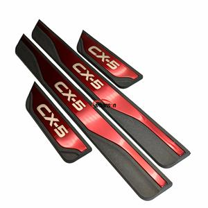 Наклейка для авто Mazda CX-5 CX 5 CX5 аксессуары для порога прокладки автомобильные протекторы для педалей накладка 2013 2015 2017 2018 2019 2020