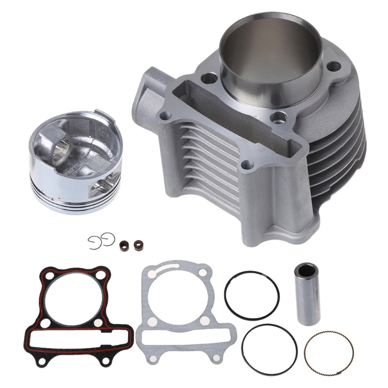 US $29 91 21% OFF|Big Bore 52 4mm Motorcycle Engine Sleeve Cylinder Kit For  GY6 125-in Engines from Automobiles & Motorcycles on Aliexpress com |