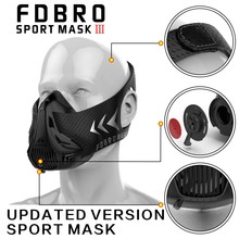 FDBRO sports mask Fitness ,Workout ,Running , Resistance ,Elevation ,Cardio ,Endurance Mask For Fitness training sports mask