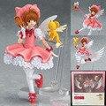 """Бесплатная доставка 6 """" Cardcaptor Sakura - Kinomoto сакура коробку 14 см пвх фигурку модель коллекция игрушек Figma 244"""