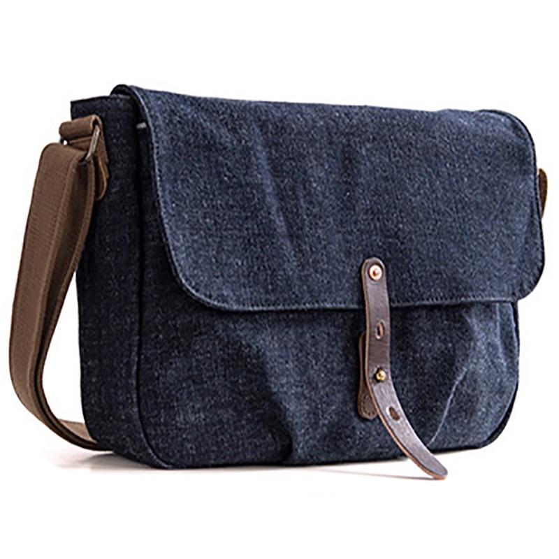 AETOO الرجعية المنسوجة الدنيم التانين crossbody حقيبة الرجال الاتجاه حقيبة كتف-في حقائب كروسبودي من حقائب وأمتعة على  مجموعة 3