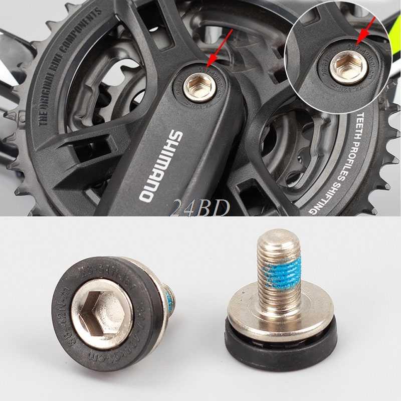 จักรยานจักรยานด้านล่างวงเล็บ Axle 8MM ALLEN Key Crank ARM สลักเกลียว M8 สกรู S21
