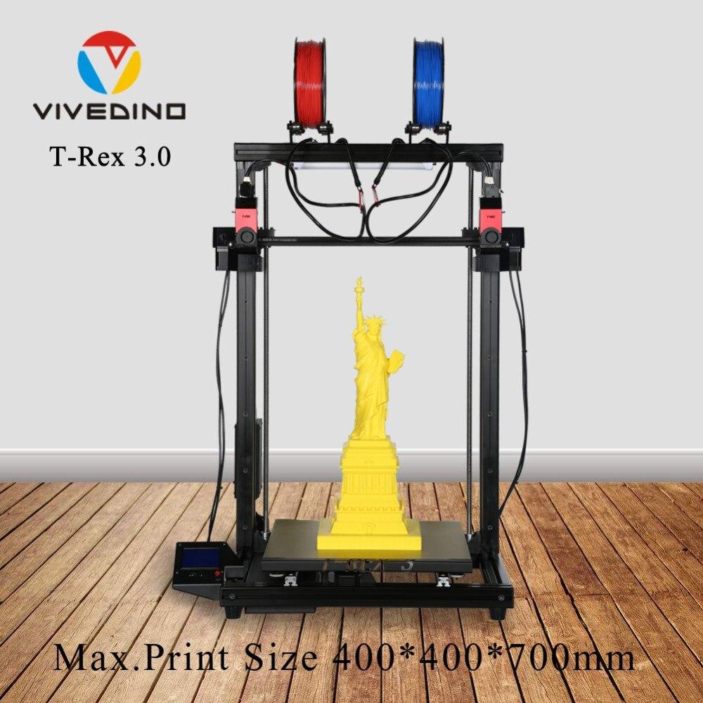 FORMBOT populaire modèle 3d imprimante kit excellente qualité volume de ventes élevé avec indépendant double extrudeuse