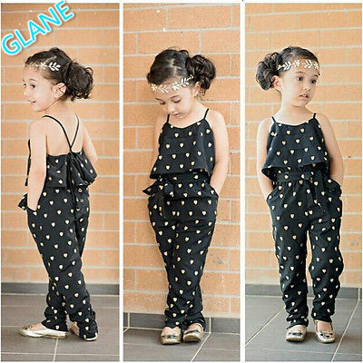 06b5d5b95e0b 2016 Latest New Girls Kids Princess One piece Playsuit Jumpsuit T shirt Pants  Outfit Clothes Children s Boys Girls Clothing Sets-in Clothing Sets from …
