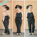 2016 Latest New Girls Kids Princess One-piece Playsuit Jumpsuit T-shirt Pants Outfit Clothes Children's Boys Girls Clothing Sets