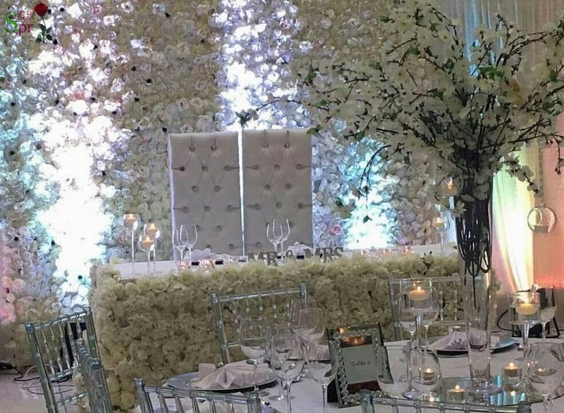 SPR Doprava zdarma 10pcs / spousta slonovinové svatební květinové - Pro svátky a večírky