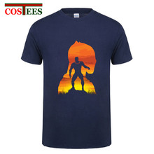 Vibranium design Africa Wakanda King Black Panther T Shirts Captain America Civil War T-shirt Avengers iron infinity man tshirts