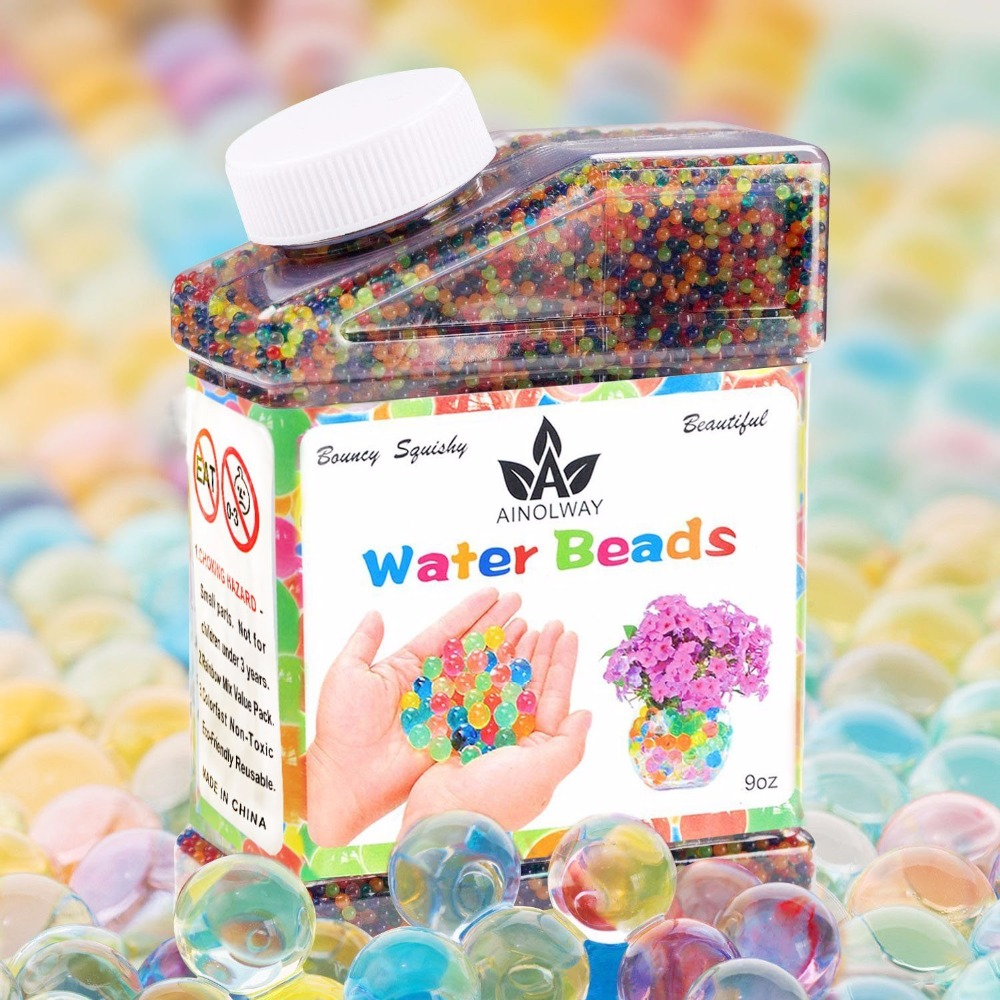 Water beads 9oz over 30000 water gel beads pearls for vase filler water beads 9oz over 30000 water gel beads pearls for vase filler wedding centerpiece home decoration plants toys in party favors from home garden on reviewsmspy