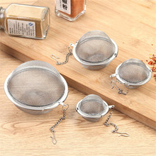 Yooap 4 sizes Stainless Steel Ball Tea Infuser, Mesh Filter Strainer w/hook, Various Spoon Infuser