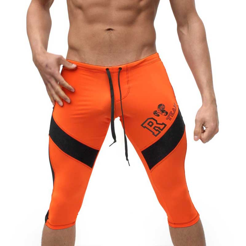 Men s Clothing Casual Shorts Elastic Low Waist Jogger Shorts Knee Length Compression Shorts Long Boxer
