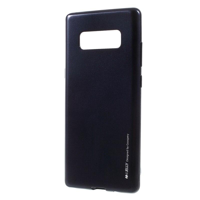 Galleria fotografica MERCURE GOOSPERY Cas de Téléphone pour Samsung Galaxy Note 8 Capa je GELÉE Métallique Souple TPU <font><b>Smartphone</b></font> Couverture pour Galaxy Note 8 N950