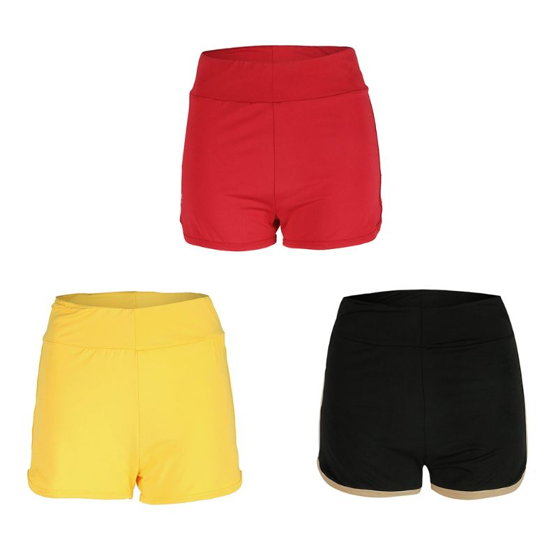 Women Casual Sexy Running Sports Gym Jogging Elasitc Waist Pleated Shorts Summer Hot Short Pants in Shorts from Women 39 s Clothing
