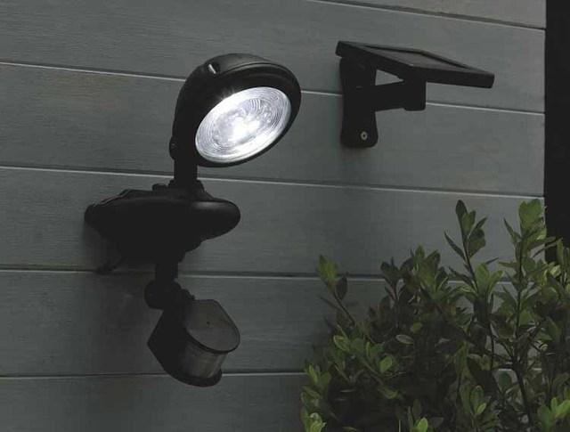 Verlichting Voor Garage : Zonne energie buitenverlichting led parkeerlicht 3 led pir