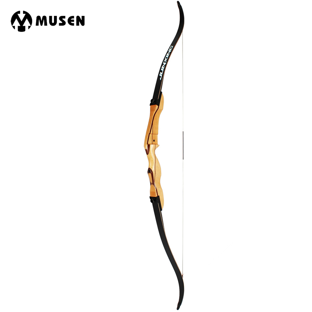18-32lbs Wooden Long Bow 68 inches Wooden Bow Tradition Bow for Outdoor Hunting Target S ...