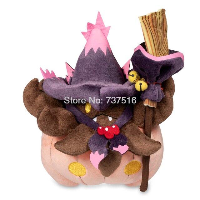 New Anime Broomstick Golden Bells Mismagius Costume Halloween
