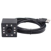 1080P OV2710 Web cam hd CCTV Surveillance Camera mini infrared Night Vision USB Webcam hd 1080P with IR CUT and 10pcs led Board