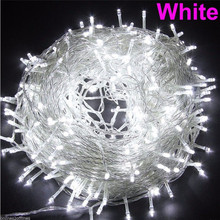 100M 600 LED Christmas Light Outdoor Waterproof EU Plug 220V Fairy String light For Garland Garden Wedding Party decoration