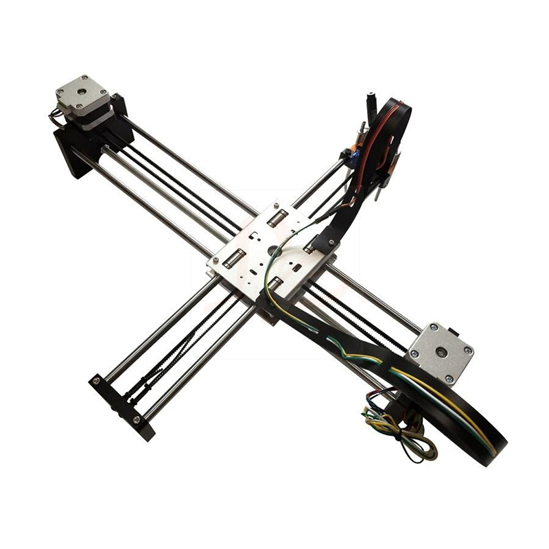 2019 NEUESTE Montiert voll metall Lybot-ziehen roboter laser cnc gravur maschine für zeichnung und schreiben arbeit dimension 320 * 220mm