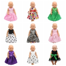 Baby Doll Clothes fit 43cm Baby Zapf Doll 17inch Doll Accessories Handmade Child Birthday Gift 004
