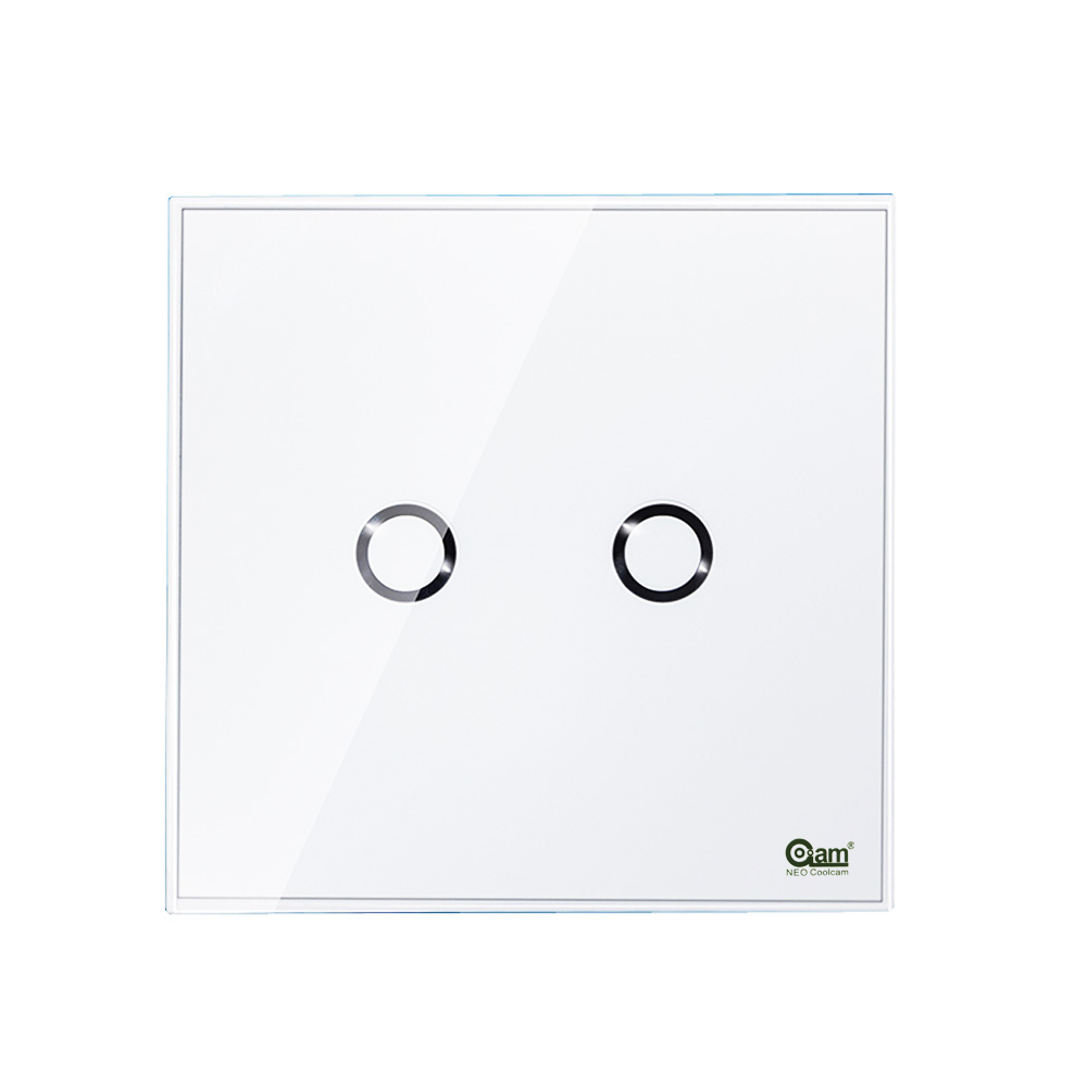 Europe Version 868.4MHz Zwave Wall Light Switch 2 Gang Home Automation Z Wave Wireless Smart Remote Control Light SwitchEurope Version 868.4MHz Zwave Wall Light Switch 2 Gang Home Automation Z Wave Wireless Smart Remote Control Light Switch