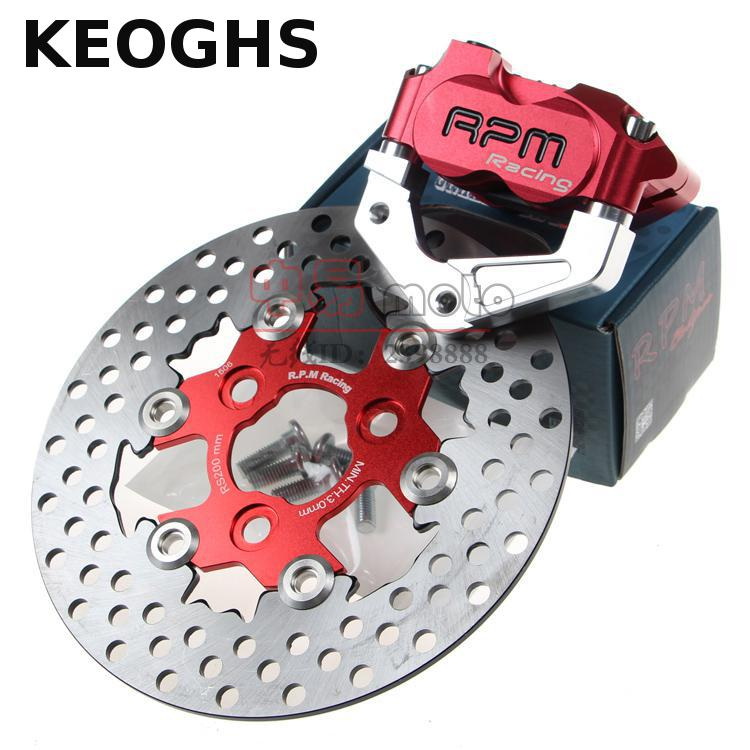 KEOGHS RPM CNC Electric Motorcycle Scooter Brake Calipers  200mm 220mm Disc Brake Pump Adapter Bracket For Yamaha Aerox BWS RSZ keoghs motorcycle brake disc floating 220mm 70mm hole to hole for yamaha scooter honda modify