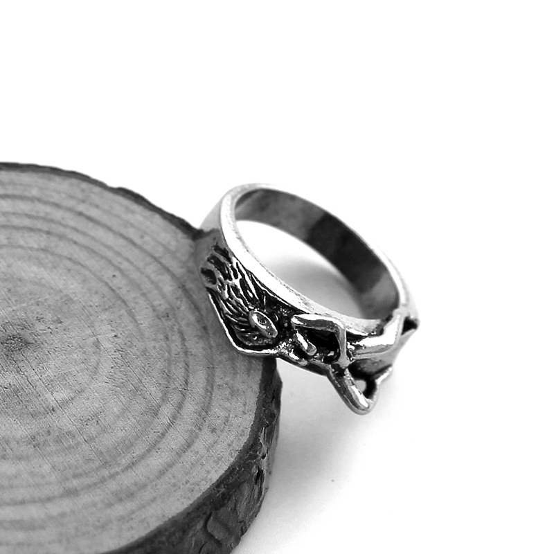 Unique Naked Woman Ring Silver Special Cool Mans Trendy Ring Hot