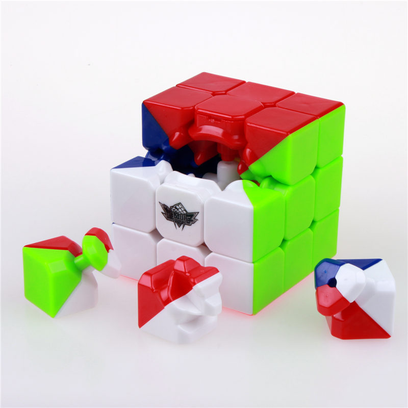 56mm stickerless 3x3x3 čarobni kocke brzina twist kocka magico - Igre i zagonetke - Foto 2