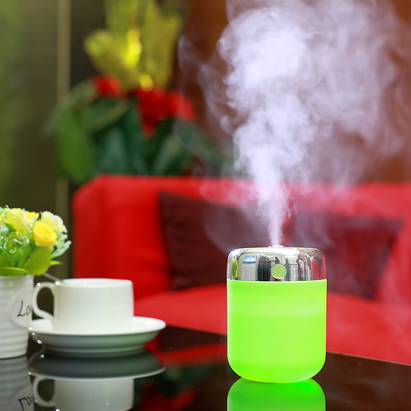 Night Light With180ML USB Air Aroma Diffuser Lamp Mist Maker Decorative Bedroom Sleeping Light Diffuser Of Home And Car
