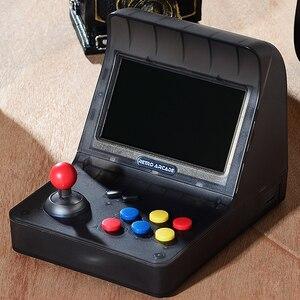 Image 5 - רטרו ארקייד כף יד קונסולת משחקי 4.3 אינץ 3000 קלאסי משחק נגן 2 PCS ג ויסטיק טלוויזיה פלט נייד