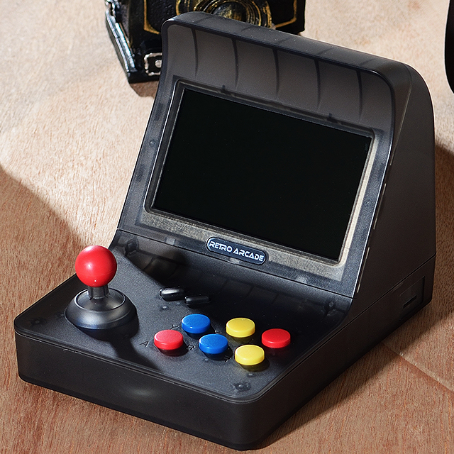 Image 5 - Retro Arcade Handheld Game console 4.3 Inch 3000 Classic Game Player 2PCS Joystick TV Output Portable-in Handheld Game Players from Consumer Electronics
