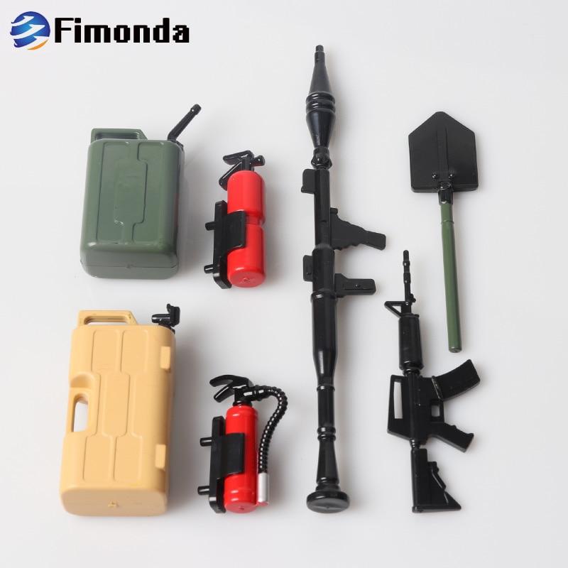 RC Decoration Tools Set Kit for 1/10 RC Cralwer Car Traxxas TRX4 Axial  SCX10 D90 D110 TF2 Tamiya CC01 Simulation parts