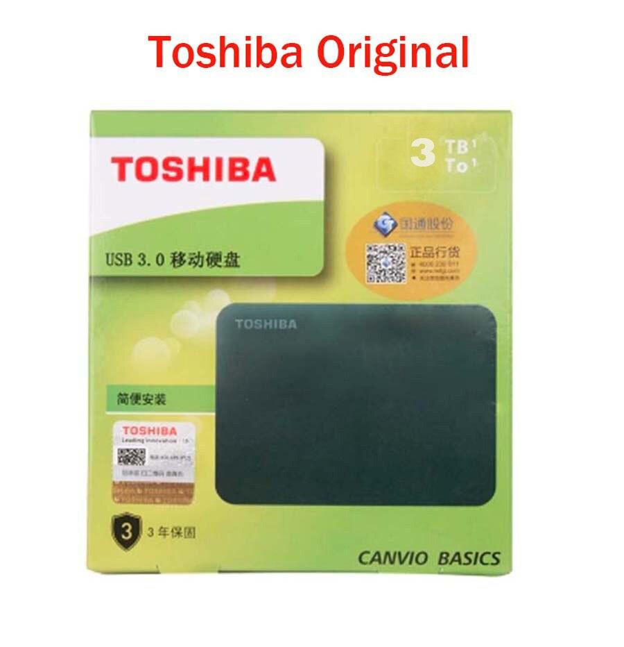 Toshiba 3 ТБ внешний жесткий диск Harici 3 ТБ USB 3,0 HDD 2,5 Disco Duro Externo жесткий диск HDD для хранения компьютера шифрование