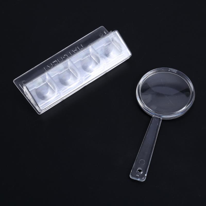 Kit de Microscope biologique 100X/600X/1200X laboratoire 3 paramètres de grossissement cadeau de jouet éducatif scolaire pour enfants enfants étudiants - 6