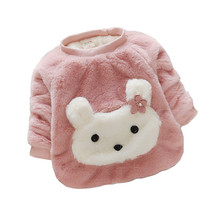 Casual Thicken Warm Baby Girl Sweaters
